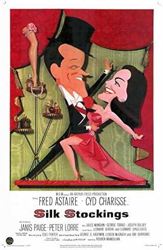 Amazon.com: Silk Stockings POSTER Movie (27 x 40 Inches - 69cm x 102cm) ( 1957): Posters & Prints