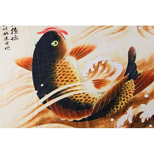 Traditional Chinese Style Double Leaping Fish Pattern