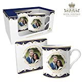 #6: Royal Heritage - Designed in England LP18074 Commemorative Wedding Mug Gift, White