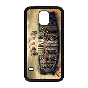 Samsung Galaxy S5 Case,Bioshock Infinite Black Customized Phone Case For Samsung Galaxy S5