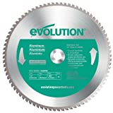 Evolution Power Tools 12BLADEAL Aluminum Cutting Saw Blade, 12-Inch x 80-Tooth Style: 80-Tooth Size: 12 Inch Aluminum, Model: 12BLADEAL, Tools & Outdoor Store