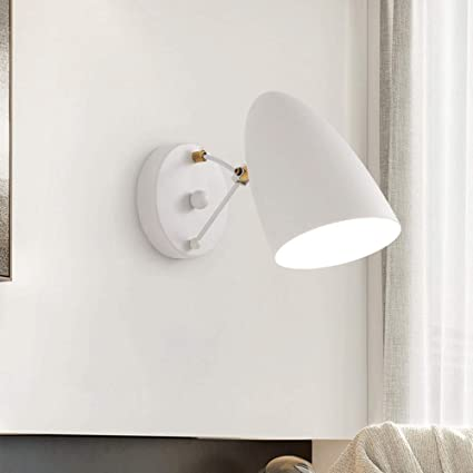Amazon.com: Mpotow Lámpara de pared estilo nórdico para sala ...
