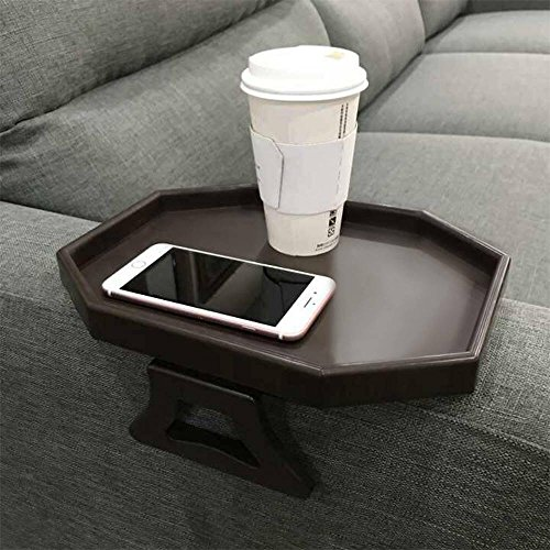 Sofa Arm Clip Table Armrest Tray Table Drinks Remote Control