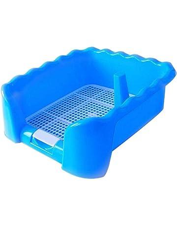Kocome Hot Pet Cat Rabbit Small Animal Pee Toilet Potty Bowl Corner Clean Litter Trays Blue