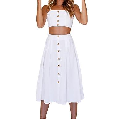 Vestidos MujerVestidos Mujer Verano Conjunto de Falda Mujer ...