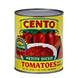 Cento Petite Diced Tomatoes 28-Ounce Cans (Pack of 12)
