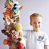 MiniOwls 6 ft Toy Chain Multipurpose Storage, White