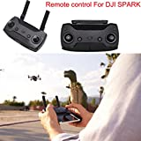 DJI Spark Drone Controller,2.4GHz Remote Controller Video Transmission Range Up To 2KM For DJI Spark Drone (Black)