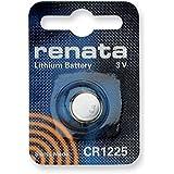 Renata - Pile bouton lithium blister CR1225 RENATA 3V 48mAh - Blister(s) x 1