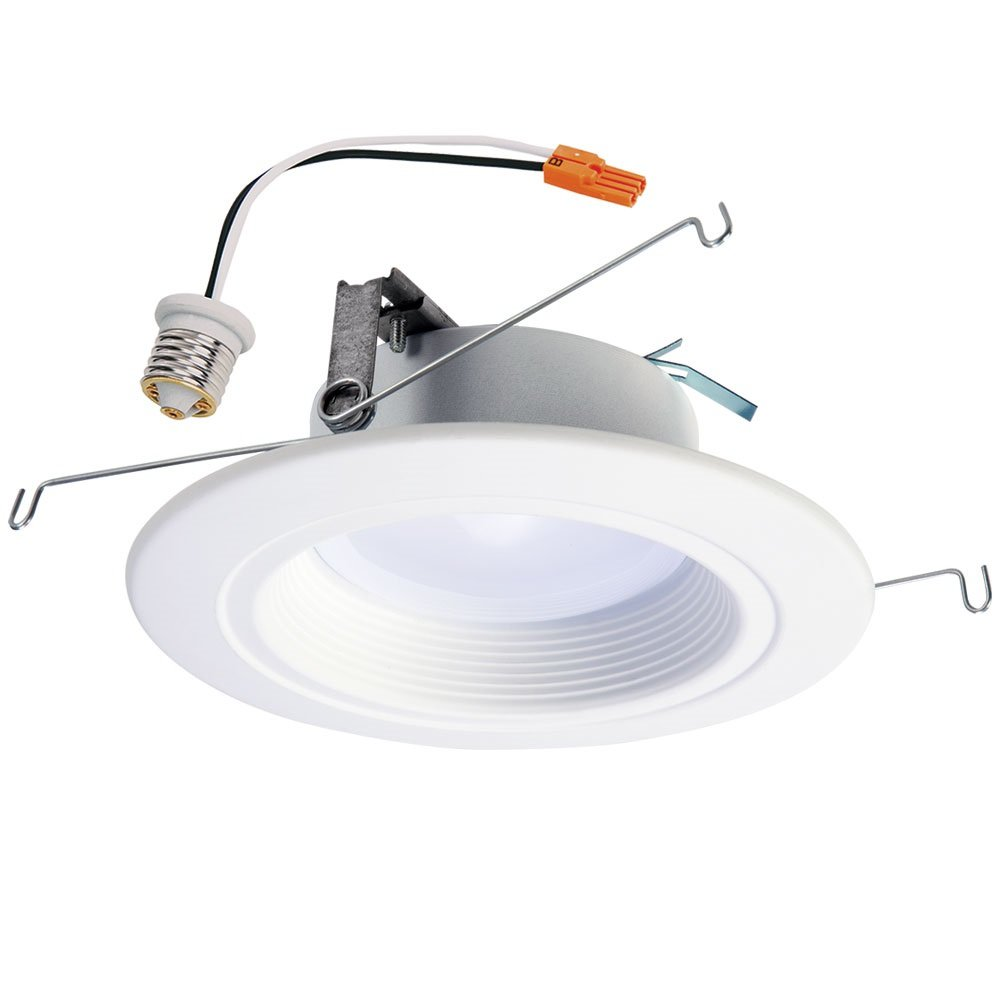 Halo Recessed RL56 Zigbee Smart LED Downlight, White, Works with Alexa