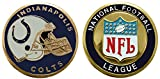 Collectible Challenge Coin- Logo Poker- Lucky Chip for Colts