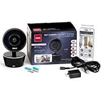 RCA WiFi Video Camera Home Security System with Motion Detection, Two Way Talk and Night Vision. Works w/ iPhone, Samsung, LG, OnePlus, Huawei, Google + Any Other Smartphone Or Wireless Device