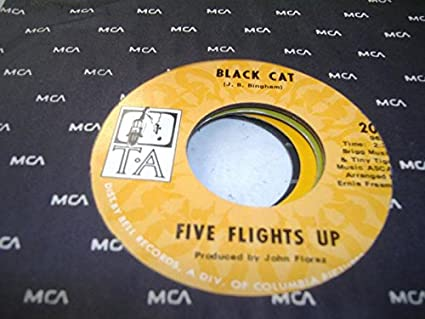Five Flights Up 45 Rpm Black Cat Do What You Wanna Do
