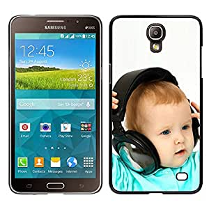 CASEMAX Slim Hard Case Cover Armor Shell FOR Samsung Galaxy Mega 2- BABY & HEADPHONES
