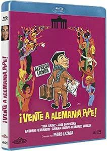 Vente a Alemania, Pepe! [Blu-ray]: Amazon.es: Alfredo Landa, José Sacristám, Tina Sáinz, Antonio Ferrandis, Pedro Lazaga, Alfredo Landa, José Sacristám: Cine y Series TV