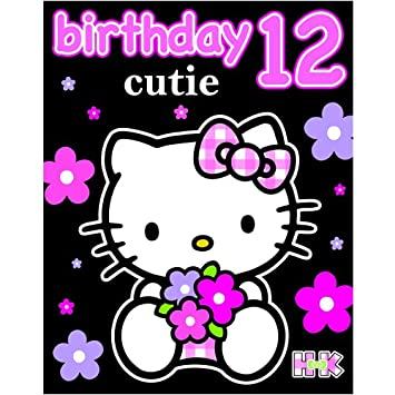 a7fa68c49 Hello Kitty Birthday Card - Age 12: Amazon.co.uk: Toys & Games