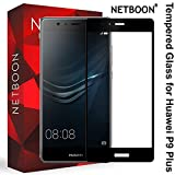 NETBOON® Original Tempered Glass Screen Protector For Huawei P9 Plus – (Black)