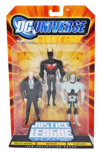 justice+league Products : DC Universe Justice League Unlimited - Bruce Wayne, Batman, WarHawk