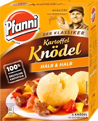 Pfanni Potato Dumplings half & half (Kartoffel Kndel Halb & Halb) 200g