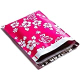 Poly Mailers Aloha Hawaiian Designer Mailers Shipping Envelopes Pink Boutique Custom Bags #SmileMail (100 10x13)
