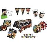 Muppets Festivités Pack, x 6 - Coupes, Plaques, Invitations, Serviettes de table, Nappe, Sacs, Bannières 55 pièces)