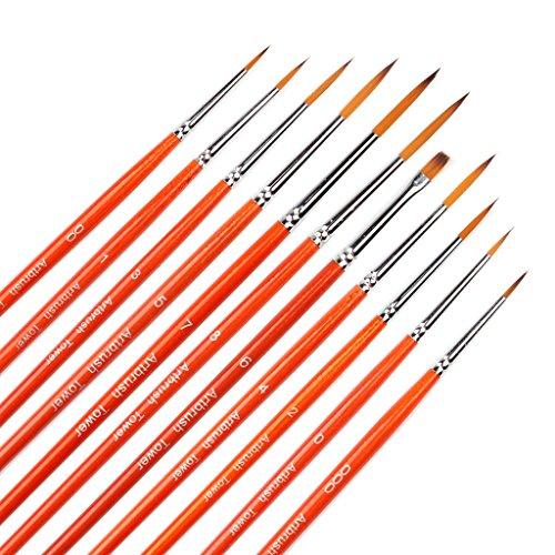Small Enamel Paint Brushes