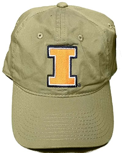 purchase cheap 769d9 2642f Image Unavailable. Image not available for. Color  New! University of Illinois  Illini Adjustable Buckle Back Hat Embroidered Cap