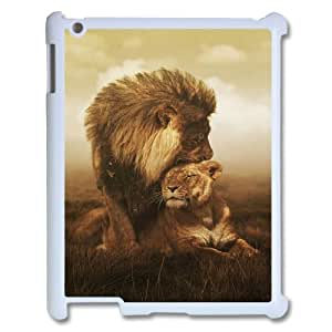 Love Lion Custom Case for Ipad 2,3,4, Personalized Love Lion Case