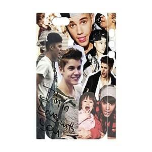 WEUKK Justin Bieber iPhone 5,5S,5G 3D cover case, customized case for iPhone 5,5S,5G Justin Bieber, customized Justin Bieber phone case