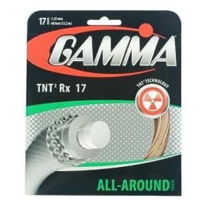 Gamma TNT2 RX 16G Tennis String, Natural
