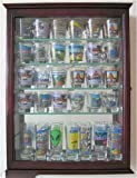 36 Shot Glass Shooter Display Case Cabinet With