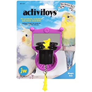 JW Pet Company Activitoys Magic Hat Bird Toy 78