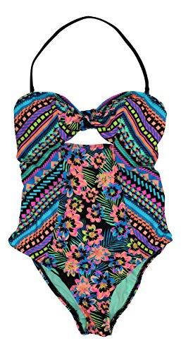 Bikini-Nation-Printed-Bandeau-Bathing-Suit-Swimwear