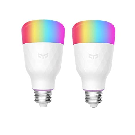Amazon.com: YEELIGHT Bombilla LED inteligente, multicolor ...