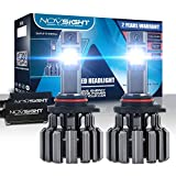 9005 LED Headlight Bulbs Conversion Kit - 80W/Pair Extremely Brigh Up to 12000