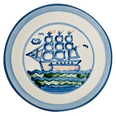 Plate 11 Inches, Ship Pattern