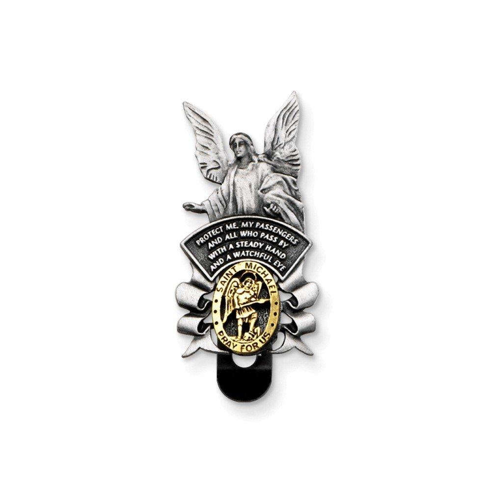 Top 10 Jewelry Gift St Michael/Guardian Angel Visor Clip