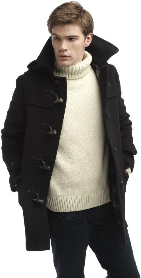 Mens London Duffle Coat Black