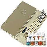 電子タバコ Giselle(ジゼル) [アップグレード版]本体2本+リキッド10本+ニードルボトル (ゴールド)