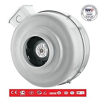 bdtx Tubo Ventilador Tubo Ventilador radial Centrífugo Turbo Ventilador Turbina metal 1750 M³: Amazon.es: Bricolaje y herramientas