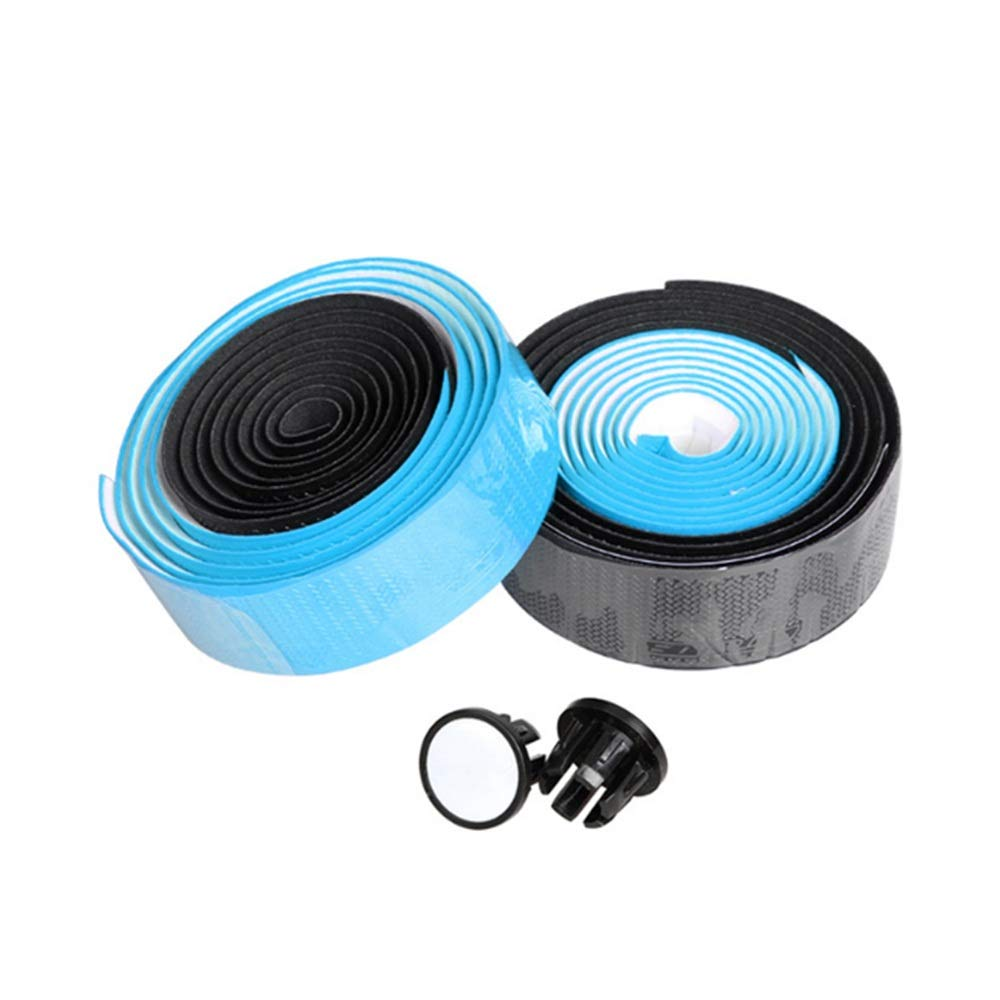 1 Paar Zwei-Farben-Grip Bar Tape - PU Rennrad Lenkerband Radfahren Griff Wraps