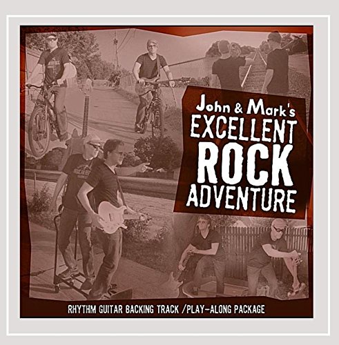 John and Mark's Excellent Rock Adventure: Rhythm Guitar Play-along package