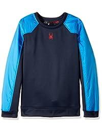 Spyder Boys Hybrid Pullover Long Sleeve Sweatshirt