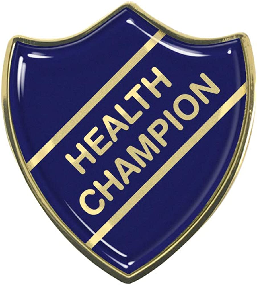 Health Champion School Shield Badge