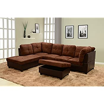 Amazon Com Beverly Fine Furniture F107a Andes Microfiber