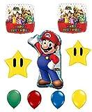 Super Mario Bros Happy Birthday Balloon Decoration Kit by Anagram