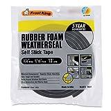 Frost King R534H Sponge Rubber Foam Tape 5/16-Inch, Black