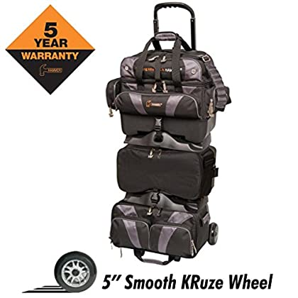 Image of Bowling Roller Bags Hammer Premium 6 Ball Stackable Roller Bowling Bag
