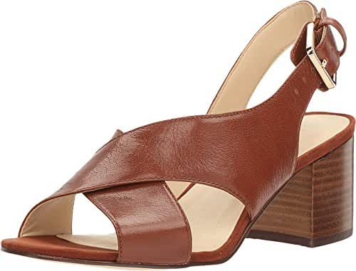 Nine West Women's Goingsteady Leather Dress Sandal