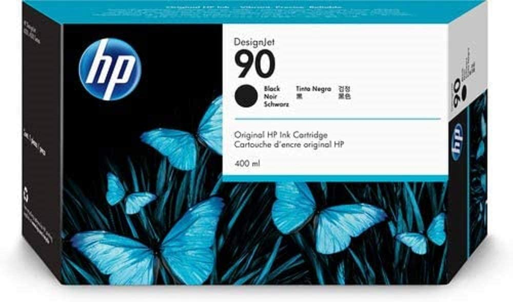 HP 90 Black DesignJet Original Ink Cartridge (C5058A)